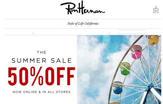 The SUMMER SALE Upto 50% OFF! – Ron Herman