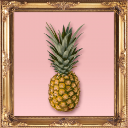 Pineapple by Marta Li Art Print