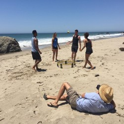 Spikeball Game – Unique Outdoor Sport for the Beach or Backyard