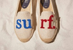 Soludos Cuisee De Grenouille Surf Womens Slippers
