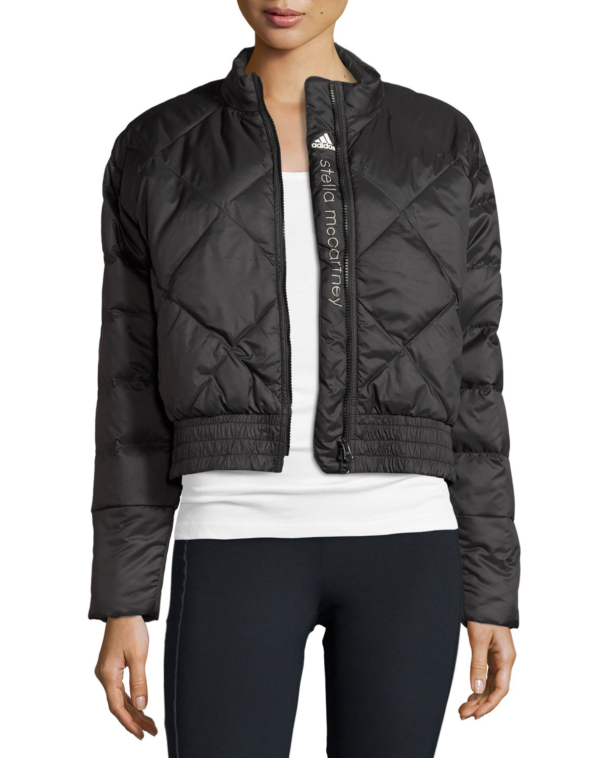 Adidas By Stella Mccartney Essentials Womens Quilted