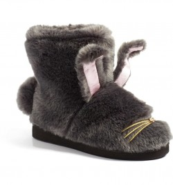 Kate Spade New York Bethie Faux Fur Bunny Slippers