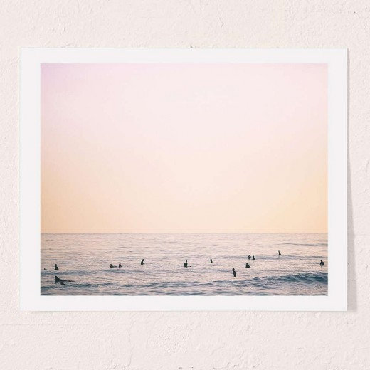 County Line Art Print By Max Wanger
