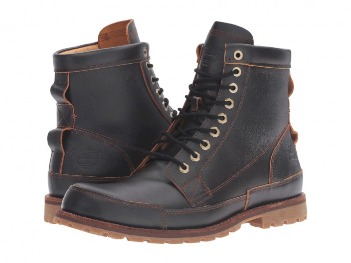 Timberland Earthkeepers Rugged Original Leather 6″ Boot Dark Brown Full Grain Boots