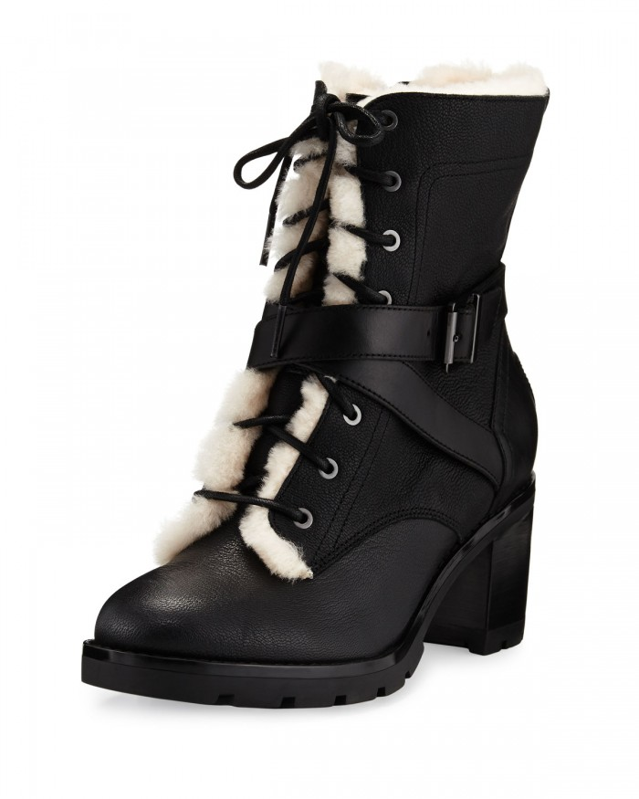 Womens lace up combat boots