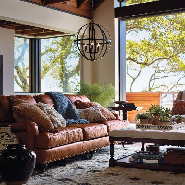 Blake Leather Living Room Furniture Collection