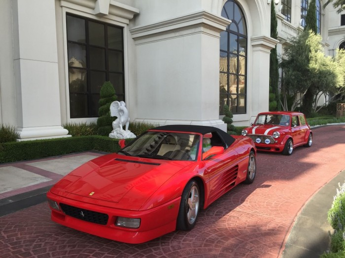 1994 Ferrari 348 Spider Red Convertible Rare Sports Car