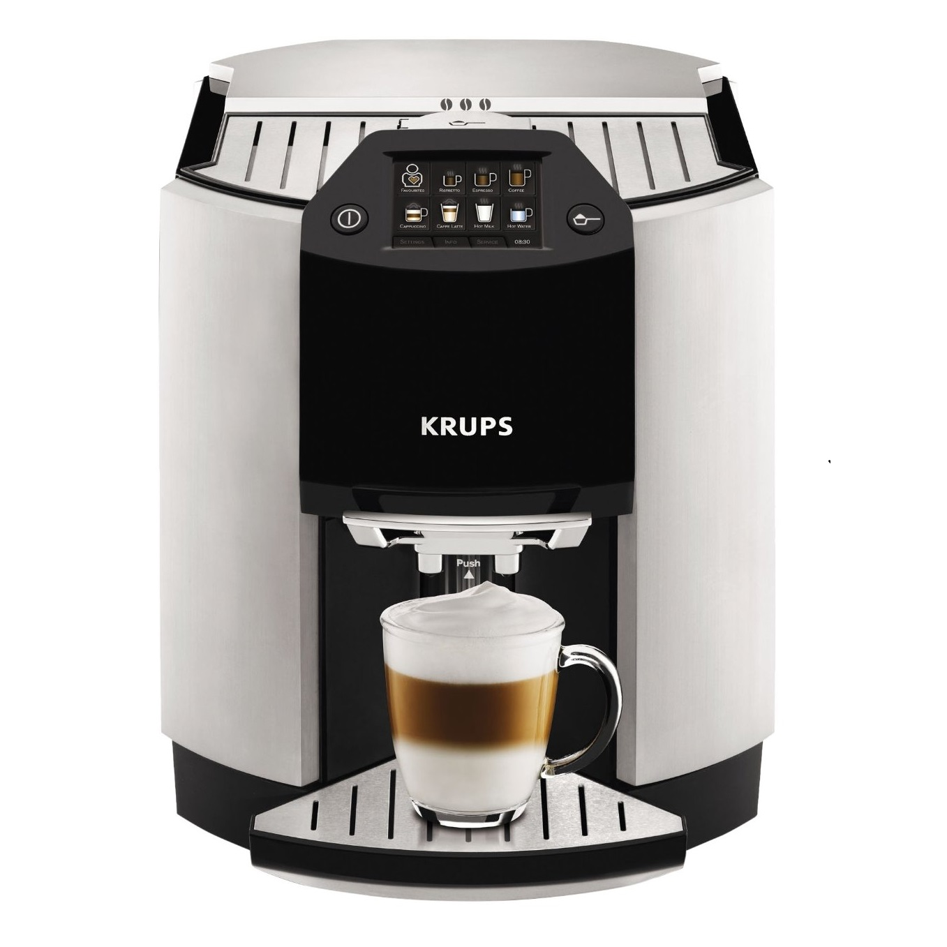 Krups Coffee Maker At Target : KRUPS Barista One Touch Cappuccino EA9010 Fully Automatic Machine MALIBU MART
