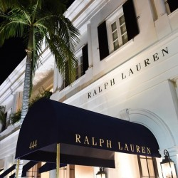Ralph Lauren Luxury Flagship Store in Beverly Hills on Rodeo Drive