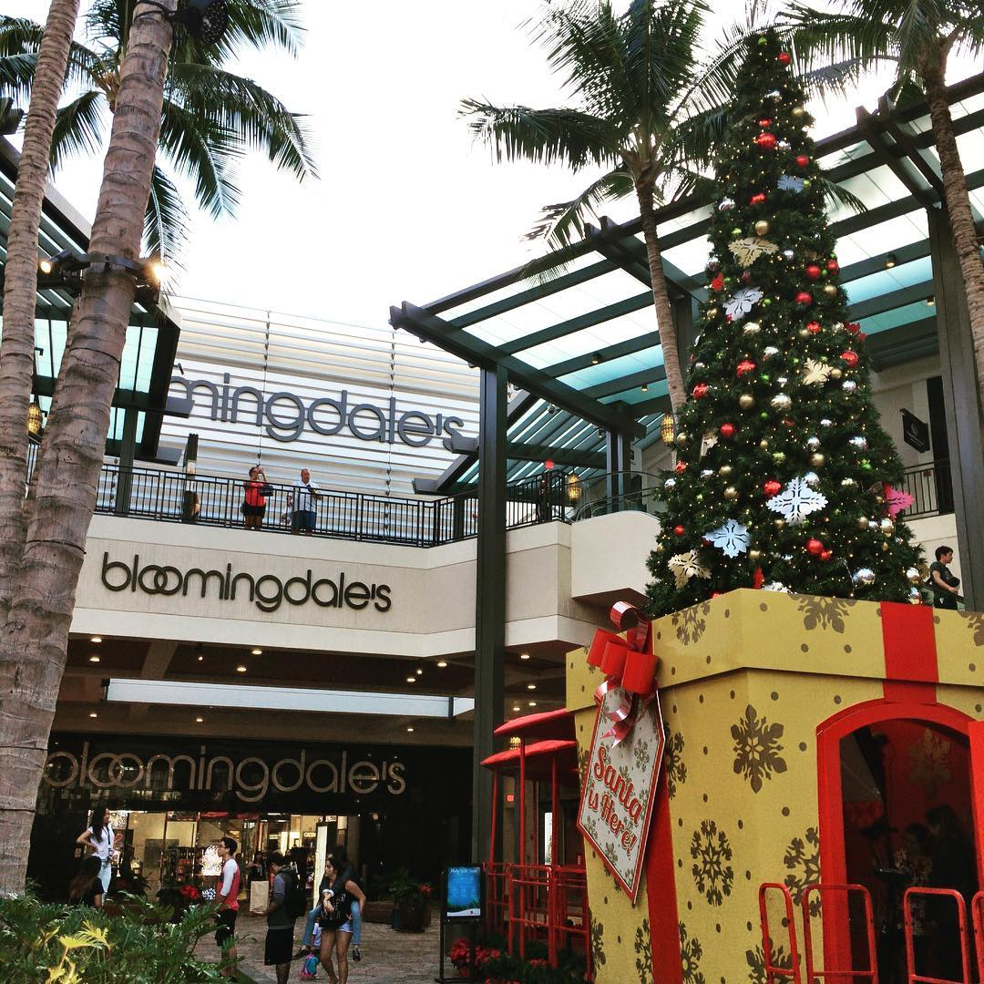 Bloomingdales department store holiday shopping christmas for Ala moana jewelry stores