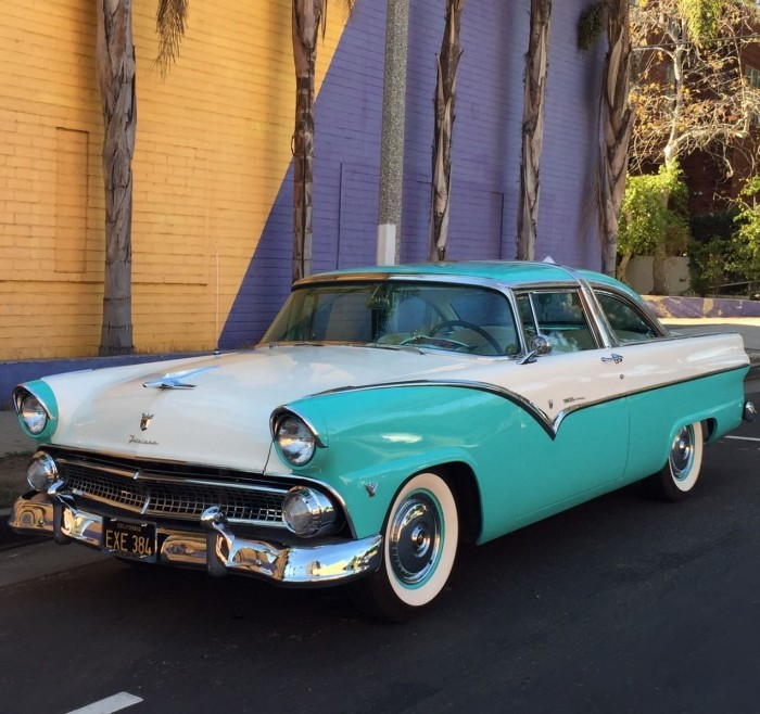 1955 Ford Crown Victoria Restored Hardtop Classic Car