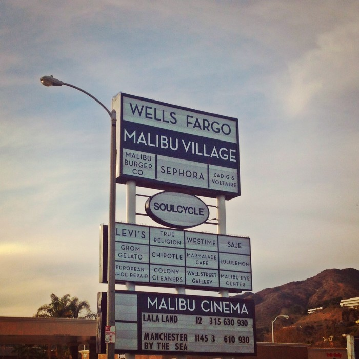 Malibu Movie Theater is Open on Christmas at Malibu Village