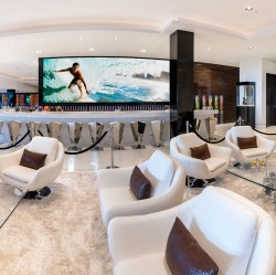 Amazing TV in the Most Expensive Home in America. 924 Bel Air Rd Los Angeles, CA