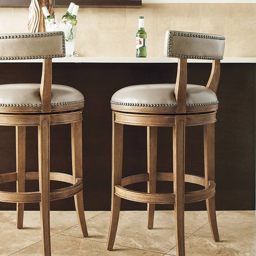Henning Low Back Bar Amp Counter Stools Malibu Mart