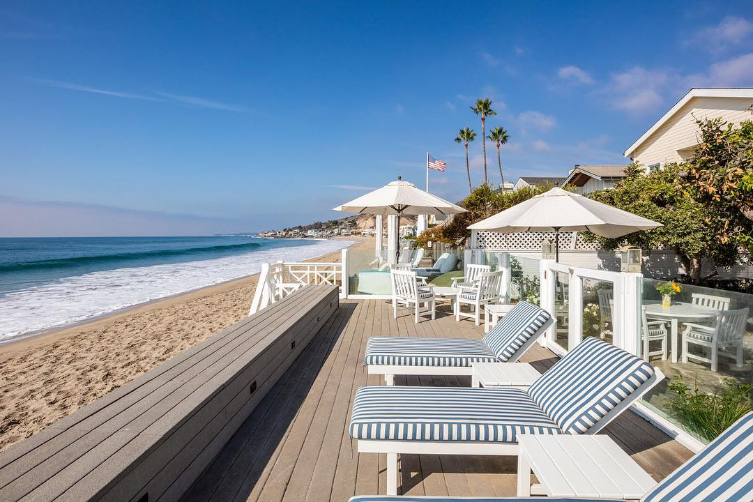Beautiful Malibu Colony Beach Home Malibu Mart