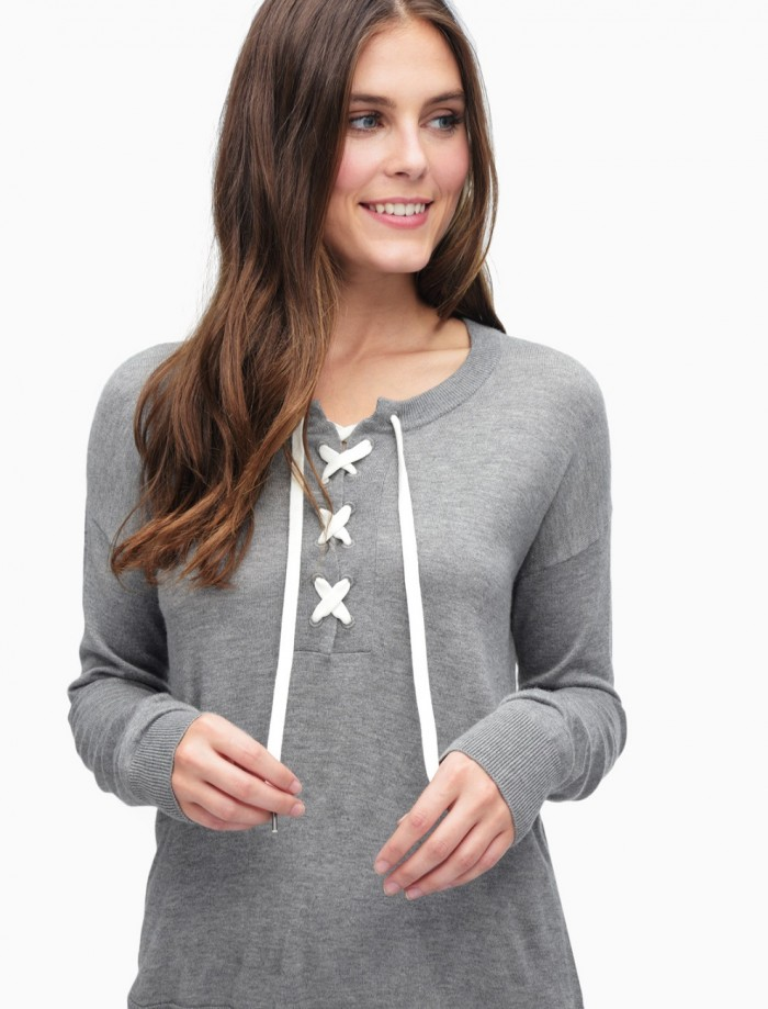 Splendid Lakewood Cashmere Blend Pullover Sweater