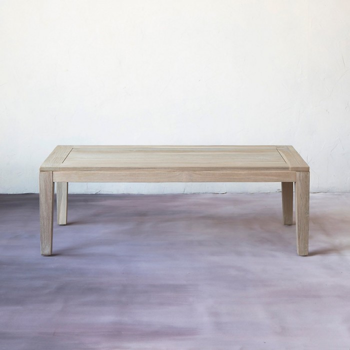 Slatted Teak Coffee Table Malibu Mart