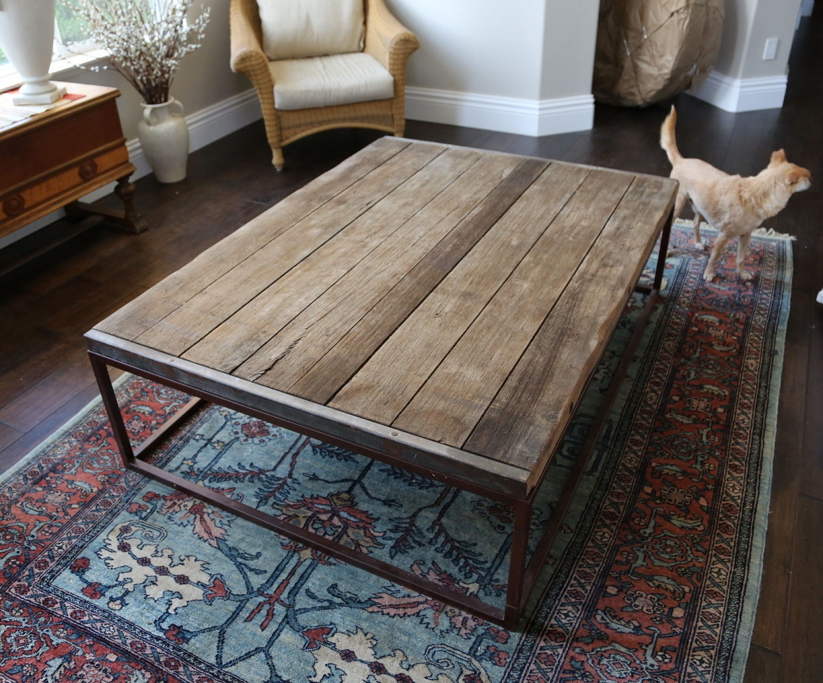 Restoration Hardware Reclaimed Wood Coffee Table Reclaimed Elm Coffee Table I Restoration