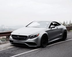 2015 Mercedes Benz S63 AMG Coupe Custom Wide Body with 22″ GfG Wheels
