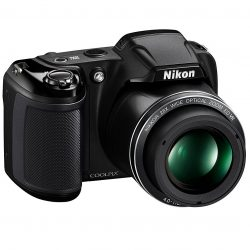 Nikon Coolpix L340 20.2 MP Digital Camera with 3″ LCD & 28x Optical Zoom