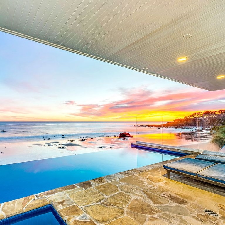 Malibu Vacation Rental: Ocean View Villa on Broad Beach for 12 Guests, Infinity Pool, Hot Tub, B ...