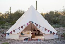 Stout Bell Tent Canvas 5M (16.4 Ft) Double Wall Safari Festival Glamping