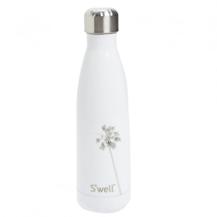 S'WELL Los Angeles Stainless Steel Palm Tree Water Bottle