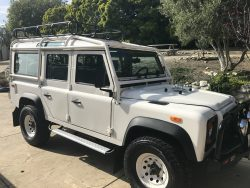 1993 Land Rover Defender NAS 110 RARE #400 of 500