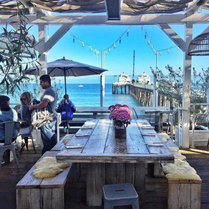Mothers Day Idea… Lunch at the Malibu Pier