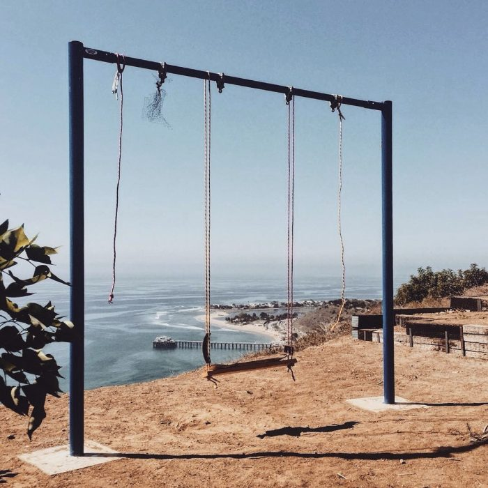 Malibu Swing with a Priceless Ocean View