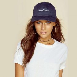 Good Vibes Dad Hat by Spiritual Gangster
