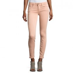 PAIGE Verdugo Faded Petal Pink Ankle Skinny Jeans