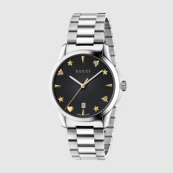 Gucci G-Timeless, 38mm Stainless Steel Womens Watch