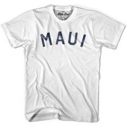 Maui Hawaii Vintage Style T-shirt by Mile End Sportswear