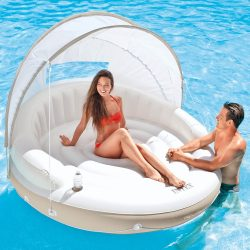 Intex Canopy Island Inflatable Lounge