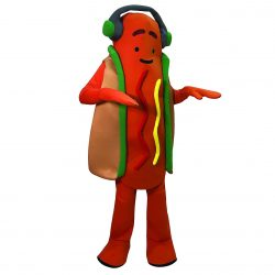 Snapchat Dancing Hot Dog Halloween Costume