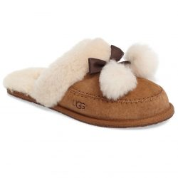 UGG Hafnier Genuine Shearling Slippers