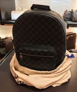 Louis Vuitton Josh Damier Graphite Backpack