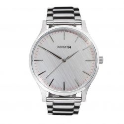 MVMT 40mm Silver Bracelet Watch