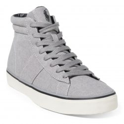 Polo Ralph Lauren Shaw Chambray Mens High-Top Sneakers