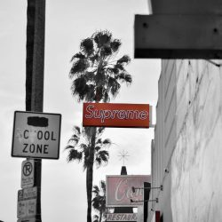 SUPREME Store on Fairfax Ave in Los Angeles