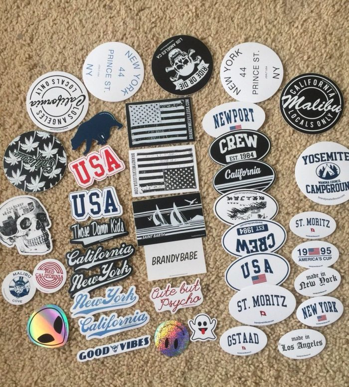 Brandy Melville Deco Vinyl Stickers 10 For $6.99 Pick any you like.