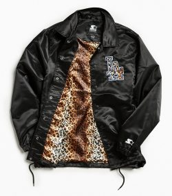 Starter Black Label + UO Los Angeles Dodgers Cheetah Coach Jacket