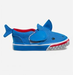 VANS Asher V Shark Slip-On Toddlers Shoes