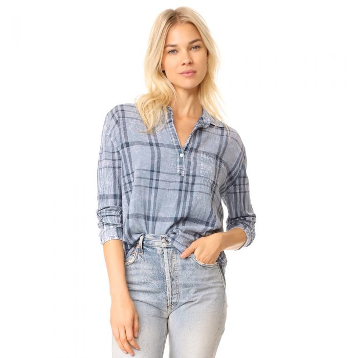 SUNDRY Do What You Love Button Down Shirt