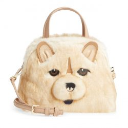 KATE SPADE NEW YORK Year of the Dog Chow Chow – Lottie Satchel Bag
