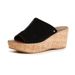 Sam Edelman Ranger Cork Wedge Mule Heel Shoes