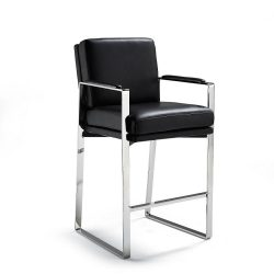Toura Bar Height Bar Stool (30-1/2″H Seat)