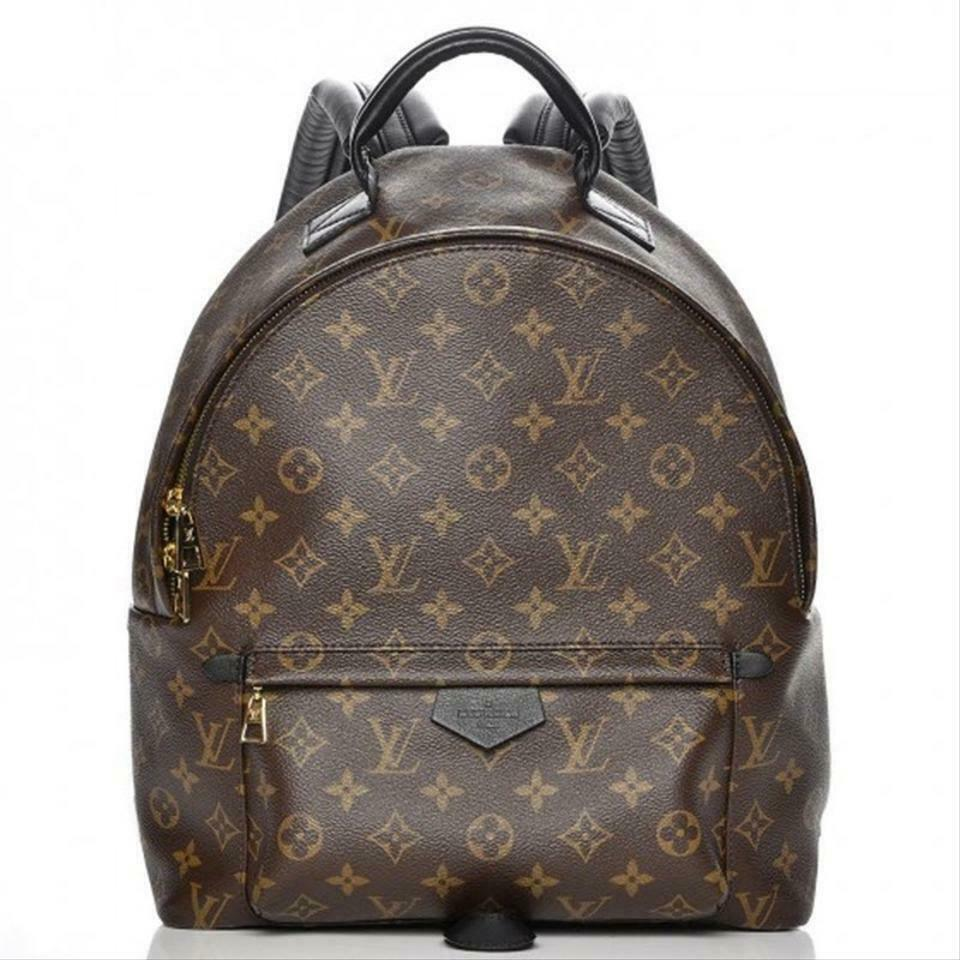 Louis Vuitton Palm Springs Brown Monogram Canvas Backpack   MALIBU THRIFT STORE