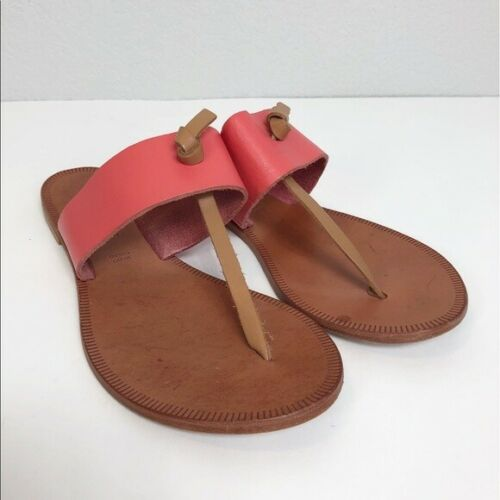 Womens Joie A La Plage Nice Leather Sandals Made in Italy size 37 Euro 7 US   MALIBU THRIFT STORE